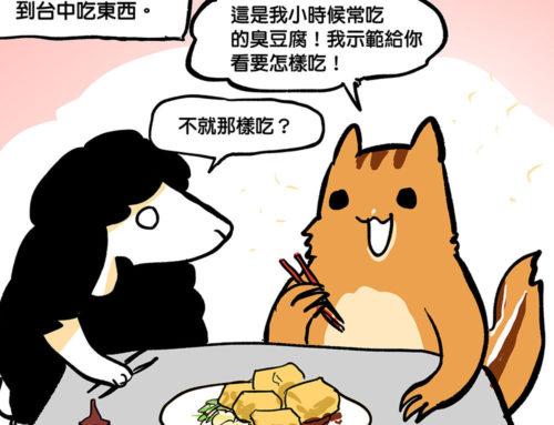 深夜美食圖文「台中臭豆腐」